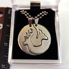 Buck And Doe Couples Necklace Best Couples Deer Necklace Products On Wanelo