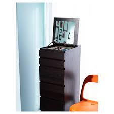Cassettiera Porta Trucchi by Malm Cassettiera Con 6 Cassetti Bianco Specchio Ikea