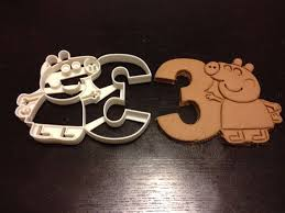 celebrate it cookie cutters best 25 peppa pig cookie cutter ideas on peppa pig