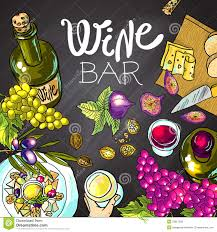 cartoon wine and cheese wine and cheese stock vector image of french label 53807628