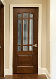 home doors interior interior door custom single solid wood with walnut finish