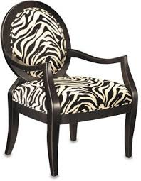 Zebra Accent Chair The Look For Less Zebra Print Accent Chair The Budget