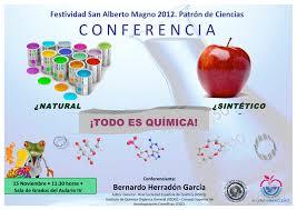 natural sintético todo es química educación científica y