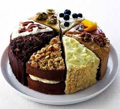 picture cakes spotty blueberry clotted cake recipe food