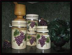 grape kitchen canisters grape kitchen items kitchen decor accessories grape kitchen