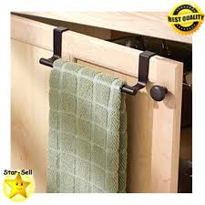 over cabinet door towel bar kitchen hand towel rack over the cabinet dish towel bar holder 9