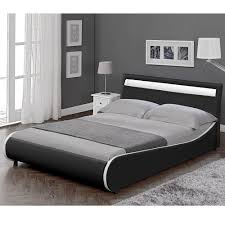 Schlafzimmer Bett Mit Led Corium Led Polsterbett