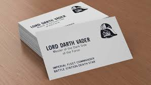 business cards from a galaxy far far away webdesigner depot