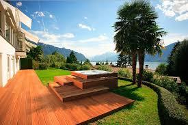 Outdoor Spa Design Ideas Hot Tubs  Jacuzzis Pinterest - Backyard spa designs