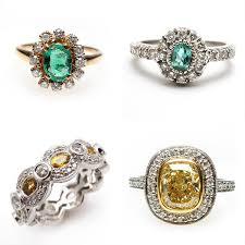 antique engagement ring bridal trends for 2012 vintage engagement rings