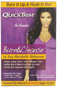 Kim Kardashian Hair Growth Pills Amazon Com Quicktrim Burn And Cleanse 14 Day System Health