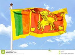 Sri Lanka Flag Lion National Flag Of Sri Lanka Stock Image Image Of Ladakh 24612521