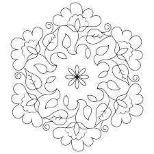 Diwali Rangoli Coloring Pages  Chronicles Network