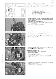 adjusting control flap dimension u201ez u201c ktm 250 sx user manual