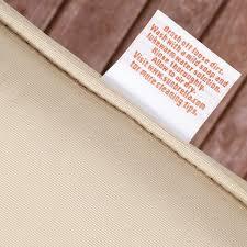 Sunbrella Indoor Sofa by Copeland Sunbrella Navy Canvas Indoor Outdoor Corded Pillow And