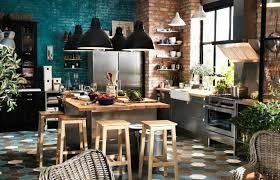 cuisine en brique mur de briques les plus belles inspirations d intérieur visitedeco