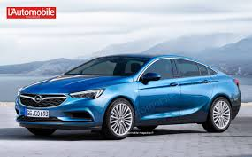 opel paris this is how the new opel insignia will look like according to l