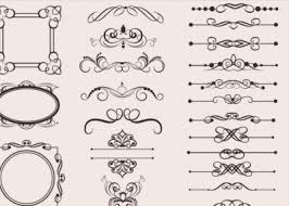 all free ornament vector graphics vectorspedia