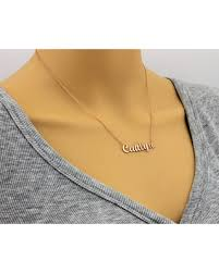 personalized gold name necklaces amazing deal on personalized name necklace personalized jewelry