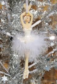 gisela graham ballerina feather tree decoration