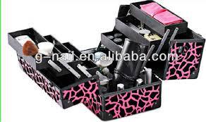 Vanity Box Makeup Artistry Nail Artist Cosmetic Case Nail Art Ideas