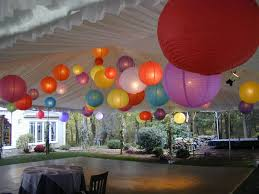 White Paper Lantern String Lights by Lighted Hanging Wedding Paper Lanterns Are The Best Wedding