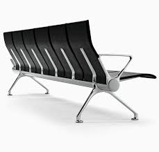Waiting Area Bench Avant Is A Modular Bench System With A Soft Lines Design And A