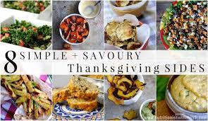 8 simple savoury thanksgiving sides