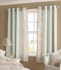bedroom elegant short curtains for windows at real estate remodel