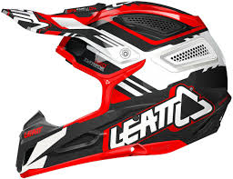 black motocross helmet leatt gpx 5 5 motocross helmet red black white buy cheap fc moto