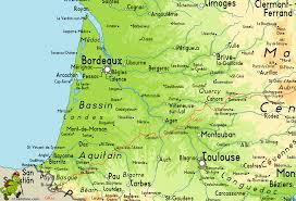 Lourdes France Map by Gr65 Via Podiensis