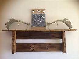Rustic Wood Bookshelves by Rustic Wood Pallet Wall Shelf