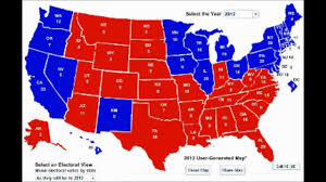 2012 Presidential Election Map by My Election 2012 Prediction State By State Results Obama 281