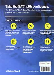 the official sat study guide 2018 edition livros na amazon