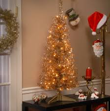 national tree co tinsel trees 4 chagne artificial