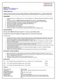 Best Qlikview Resume by Deepak Dixit 3 Year Resume