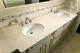 Marble Bathroom Ideas Colors This Double Sink Vanity Uses Botticino Fiorito Marble To Match The