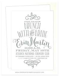 bridal shower brunch invitations bridal brunch invitations bridesmaids luncheon invitations in