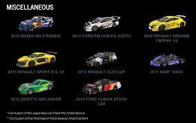 mazda car models list project cars 2 car list revealed sim racing paddock