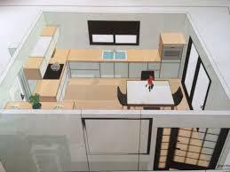 idées implantation cuisine 14m2 construction maison au sud est de