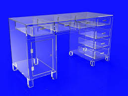 Acrylic Vanity Table Gorgeous Acrylic Vanity Table With 55 Best Its Clear And Not So