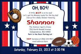 sports themed baby shower ideas top 12 sports themed baby shower invitations trends in 2017