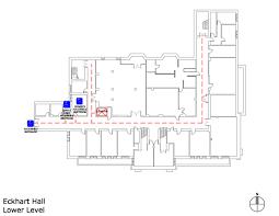 Uchicago Map Uchicago Maps Eckhart Hall Accessible Entrances And Routes