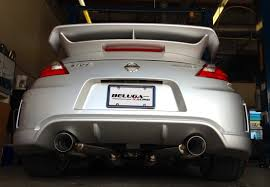 nissan 350z nismo exhaust beluga racing product categories exhaust