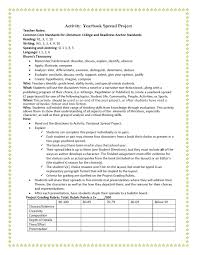 Spreadsheet Lesson Plans For High by Teach It Write Memories A Yearbook Spread Activity For