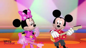mickey mouse clubhouse rocks mickey minnie u0027s song disney