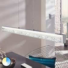 Led Esszimmerlampe Touchfunktion Led Hängeleuchte Cardito 1 Kaufen Lampenwelt De