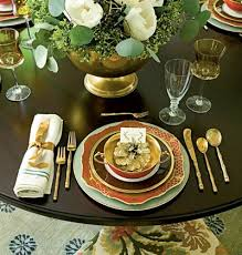 dining room table settings