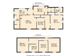 Estate Agents Floor Plans by Newhouse Farmhouse Kingsbridge Charles Head Estate Agents South