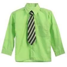 ferrecci 174 lime green men s satin dress shirt